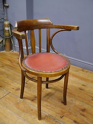 One Antique Chair Polish Bentwood Furniture Industry Krarow