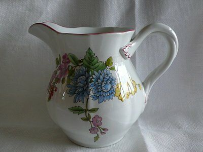 Lovely Spode Jug Romany Floral Made In England 13Cm High