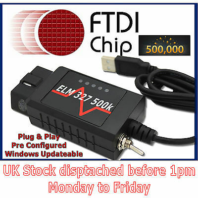 Modified ELM327 USB suitable for Convers+ converse mod FMod for Ford