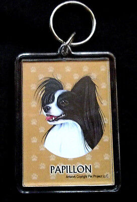 Papillon #3 Key Chain