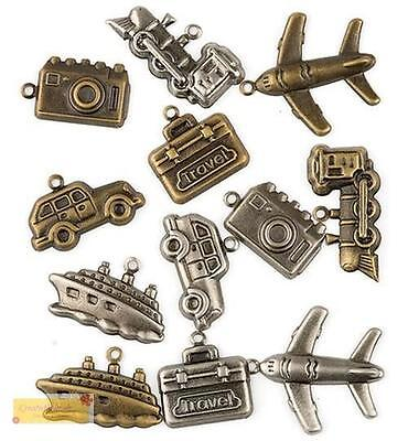 Hobby & Crafting Fun Charms REISE - Travel 1005, Anhänger