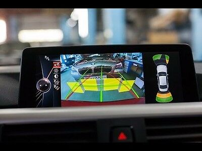 2012-15 BMW 1 3 4 5 6 Series X3 X5 X6 Backup Camera Interface Dynamic Guidelines