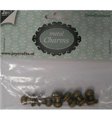 Joy Crafts Metal Charms SCHRAUBE 6350/0305,Charms, Anhänger,Embellishment