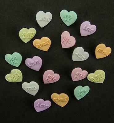 Joy Crafts Add-ies Hearts with Text 6380/0026,Charms, Anhänger
