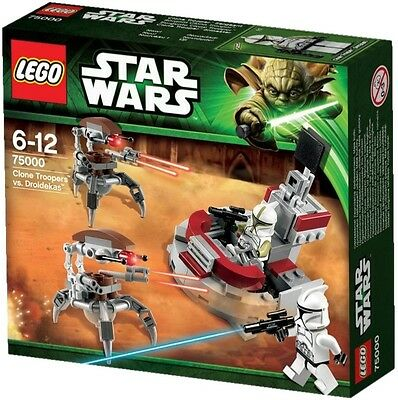 LEGO Star Wars Clone Troopers vs. Droidekas (Used and in box)