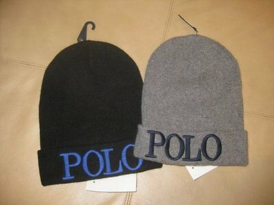 Nwt Polo Ralph Lauren Boys Beanie Hat One Size 8-20 Msrp: $45