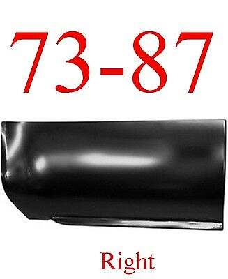 6.5' 73 87 Chevy Right Front Lower Bed Panel GMC Truck 88 91 Crew Cab 0850-144