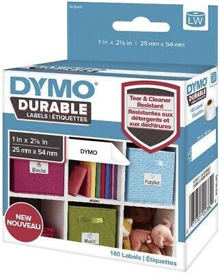 Dymo® LabelWriter™ High Performance Etik. - 25x55mm, Plastik