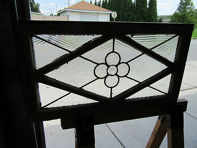 ~ Antique Stained Glass Transom Window 31 X 17 2 Of 2 ~ Architectural Salvage ~