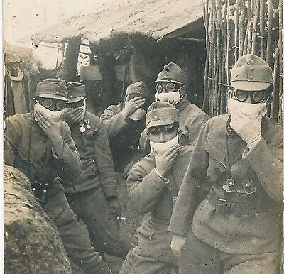 WWI K.u.K. Austro-Hungarian Army, protection against gas bombs 1915, original