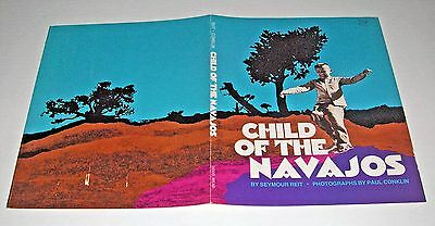 CHILD OF THE NAVAJOS book by Seymour Reit DUST JACKET ONLY (1971) Book Cover