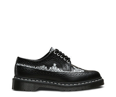 Dr. Martens 3989 print smooth black sneakers donna