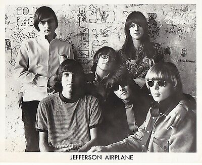 Jefferson Airplane  1967   8X10 Photo #32