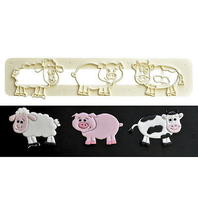 Cute Farm Animals Tappit Cutter