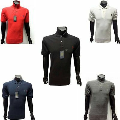 Authentic Polo R.L T-Shirt for Mens Genuine Small Pony Logo - Size S M L XL