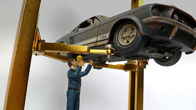 Mechanic at Work - JOHN - 1/24 - G scale figure - NEW from American Diorama