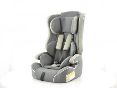 Childs Car Seat 4-12 years old 15-36kg 3 Point Belt Sports Grey EC Approved ✔️