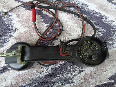 vintage telephone test butt set western electric