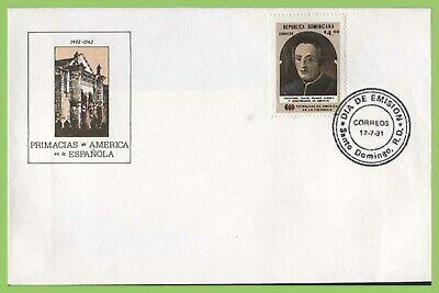 Dominican Republic 1991 4p. Christopher Columbus First Day Cover