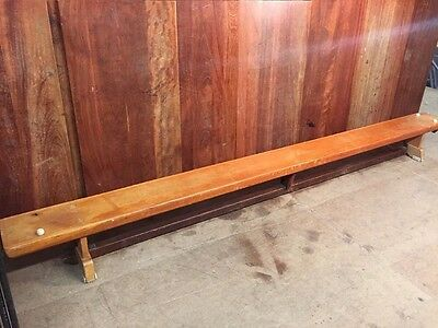 Vintage School Gym Bench