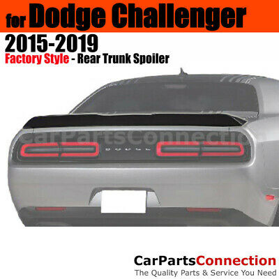 Painted Trunk Spoiler For 2008-2014 Dodge Challenger End Lip SW1-PW1 STONE WHITE
