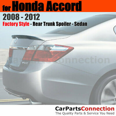 2008-2012 Honda Accord 2 DR Coupe Painted Factory Style Rear Spoiler Wing NEW