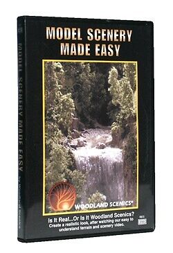 Woodland Scenics-DVD -- Model Scenery Made Easy