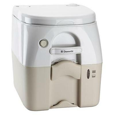 Dometic 975Msd Portable Toilet 5.0 Gal Tan W/ Brackets Msd