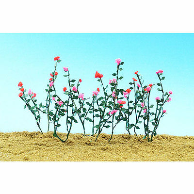 """JTT Scenery Products-O Rose Vines, 2.5"""" long (6)"""