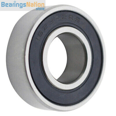 """Ball Bearing 1623-2RS With 2 Rubber Seals 5/8""""x1-3/8""""x7/16"""" Inch"""