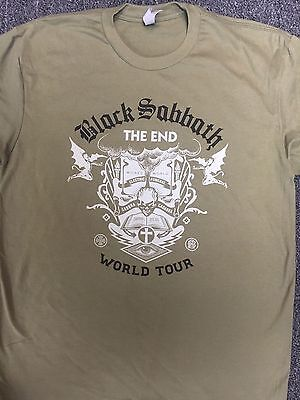BLACK SABBATH Shepard Fairiey Design Green The End Tour 2016