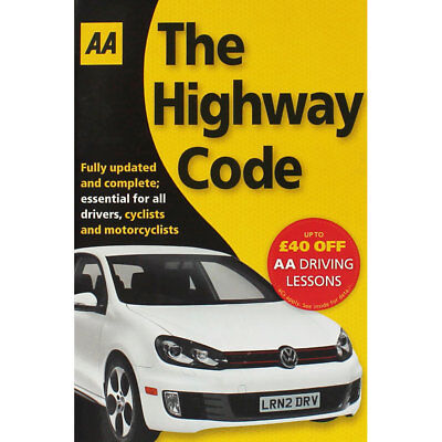 AA - The Highway Code by AA Publishing (Paperback), Books, Brand New