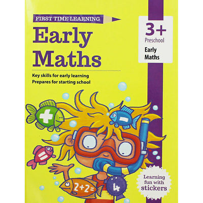 Early Maths Workbook - Preschool (Paperback), Children's Books, Brand New