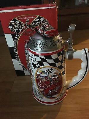 """Beer Stein Limited Edition 2002 Dale Earnhardt Jr. """"Taking the Checkered Flag,"""""""