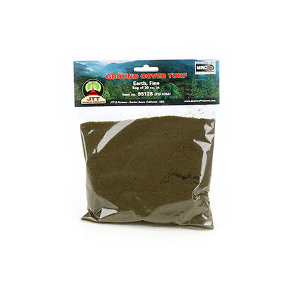 JTT Scenery Products-Fine Ground Cover Turf, Earth