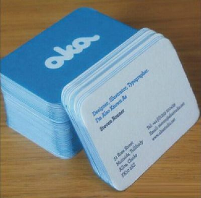 200 PVC Plastic Business Cards Printing - Matte Finish-Full Colors Free Shipping