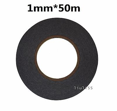 1mm*50 meters Sticker Double Sided Tape Adhesive For Cell Phone Repair US Ship