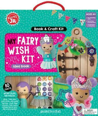 Klutz Junior: My Fairy Wish Kit by Editors Of Klutz Book & Merchandise Book Free
