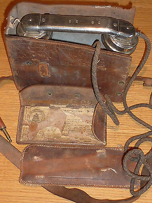 ancien 1903 USA TELEPHONE old PHONE appareils telephoniques WESTERN ELECTRIC us