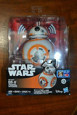 Bb-8 Rip N Go Star Wars Authentic Movie Sounds Collectors Toy The Force Awakens
