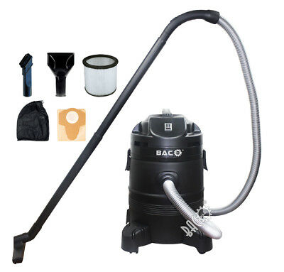 Baco 1400W 35 L Container Movable Sludge Pond Vacuum Cleaner Wet/dry