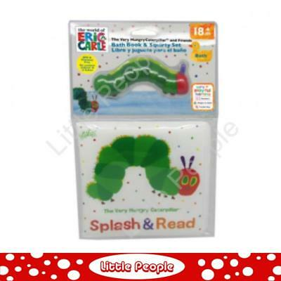 Great Gift idea The Very Hungry Caterpillar. BATH BOOK & SQUIRTER