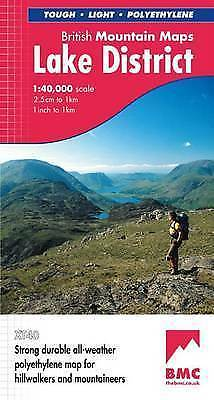 Lake District by Harvey Map Services Ltd. (Sheet map, folded, 2006)