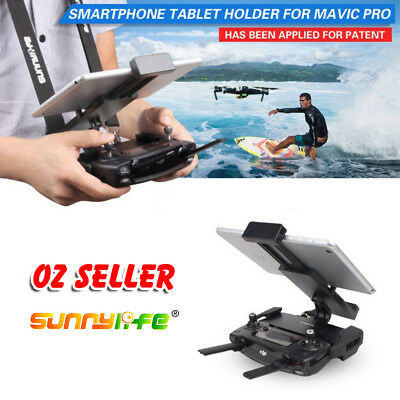 For DJI Mavic Air Pro Spark Foldable Tablet Phone Mount Holder Remote Controller