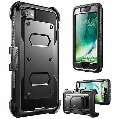 Ultra 360° Shockproof Hybrid Clip Hard Case Cover For Samsung Galaxy S8/ S8 Plus