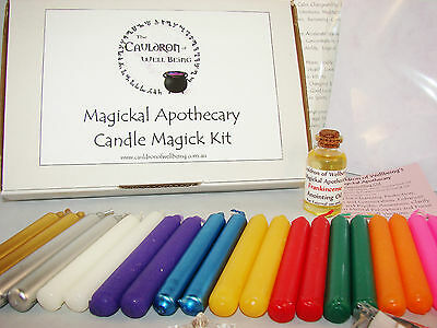 Candle Magic Kit - Candle Spell - Pagan - Wiccan Ritual