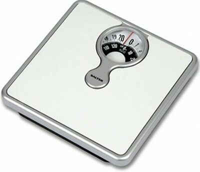 Salter 484WHDR Mechanical Bathroom Scale With Magnifying Lens