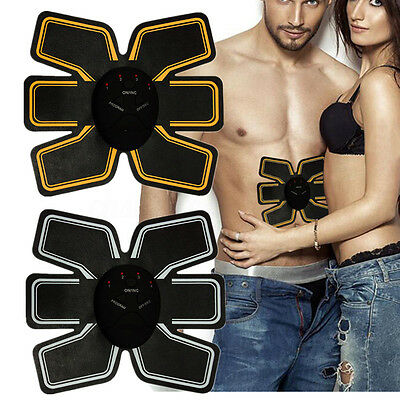 Entrenador Músculo Abdominal Control Remoto 6 Pack Muscle Training Fitness Abs