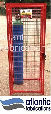 Argon/co2 Gas cylinder Cage 4 x Bottle Cage Dimensions 1800h x 700w x 700d