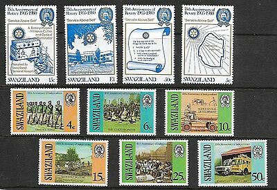 Collection of Mint Swaziland Stamps